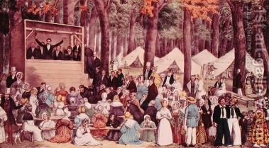 Methodist-Camp-Meeting,-1836